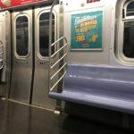 ニューヨークで4カ月ぶりに地下鉄に乗る!